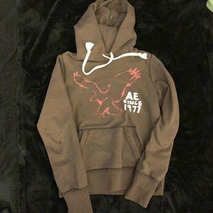 Brown hoodie from American Eagle
